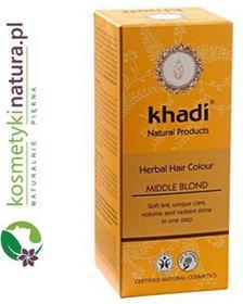 KhadiHenna naturalna średni blond
