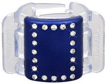 Linziclip Midi Hair Clip 1szt W Spinka do włosów Blue Crystal 5060083031372