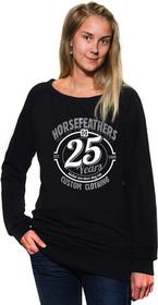 Horsefeathers bluza damska 25HF WOMENS CREW SWEATSHIRT (black)