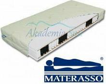 Materasso Materac Kokos Bio Ex, Rozmiar - 200x200 cm, pokrowiec - Hypoallergic