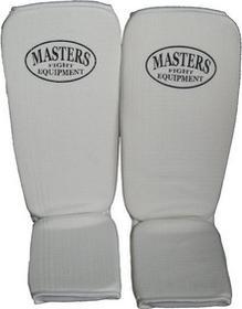 Masters Ochraniacze Elastyczne Piszczeli, na Goleń i Stopę - białe
