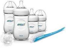 Philips AVENT Avent Zestaw startowy Classic + butelki smoczki szczotka) BPA free