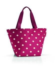 Reisenthel Torba na zakupy shopper M ruby dots (RZS3014)