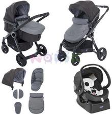 Chicco Urban Plus 3w1 anthracite
