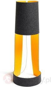 Domus Designerska lampa stojąca MIA XL, grafit/ pom.