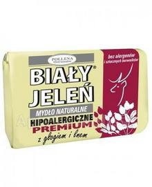 Pollena Hipoalergiczne mydło naturalne PREMIUM z głogiem i lnem 100 g