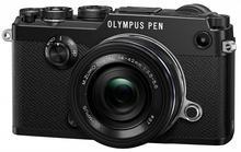 Olympus PEN-F + 14-42 mm kit czarny