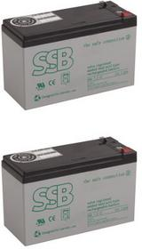 APC RBC60 zestaw baterii SBL SBL12V7.2x2