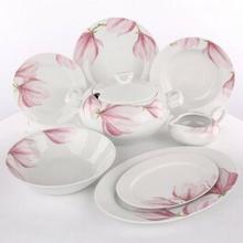 Ćmielów Zestaw obiadowy dla 12 osób porcelana Yvonne Magnolia G143   Darmowa dos