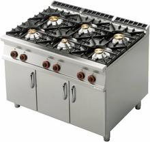 RM Gastro Kuchnia gazowa z szafką PC - 912 G