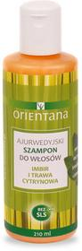 Orientana Ajurwedyjski Szampon do włosów Imbir i Trawa Cytrynowa