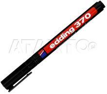 Edding Marker Permanentny 1.00mm czarny okrągły 370 VP1850