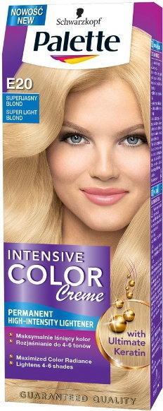 Schwarzkopf Palette Intensive Color Creme E20 Superjasny blond
