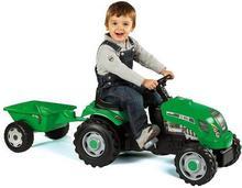 Smoby Traktor zielony z przyczepą 33329