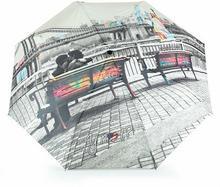 YNot Parasol damski z nadrukiem automatyczny Easymatic Light City New York II