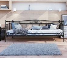 Lak System Łóżka metalowe Łóżko metalowe sofa 120x200 WZÓR 13 12020013