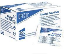 Gaziki nasšczone alkoholem PDI Alcohol Prep Pads 6cmx3cm 100szt.