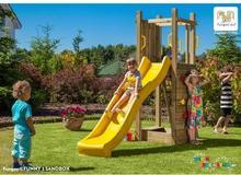 Fungoo Drewniany plac zabaw dla dzieci FUNNY 3 (z piaskownicą) - atrakcyjna cena 03235