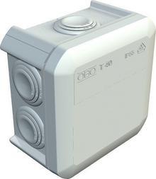 Obo Puszka T40 Puszka natynkowa rozgałęźna 90x90x52 IP 55