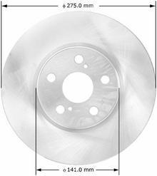 ATLAS Tarcza przednia PRT5818