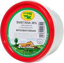 KLIMEKO ŚMIETANA 36% ZAKWASZANA 200ML - KLIMEKO 3092