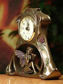 Veronese Kominkowy zegar z elfem