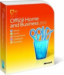 Microsoft Office 2010 Home and Business - dla użytkowników domowych i małych firm