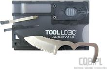Tool Logic Survival Card II Charcoal SVC2