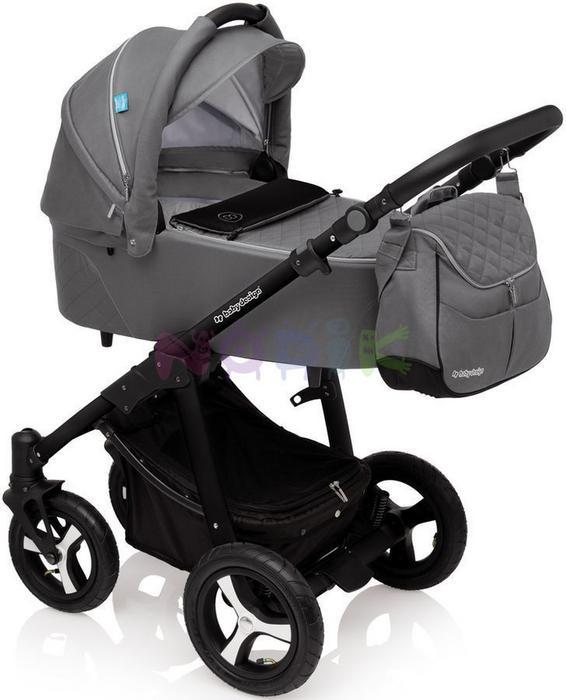 Baby Design Lupo Comfort 2017 2w1 graphite