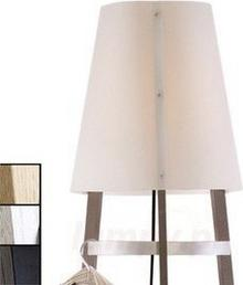 Domus Lampa stojąca Wai Ting kabel dąb Czarny