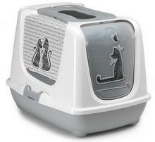 Yarro Moderna Toaleta z filtrem Trendy - Zakochany kot [Y3446]