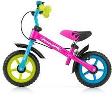 Milly Mally Rowerek biegowy z hamulcem Dragon Multikolor