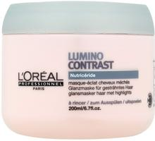 Loreal PROFESSIONNEL EXPERT Lumino Contrast Mask Maska nadająca blask włosom z pasemkami do spłukiwania 200ml