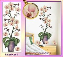 Naklejka Malowane Orchidee nr 1