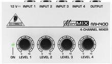 Behringer Micromix MX 400
