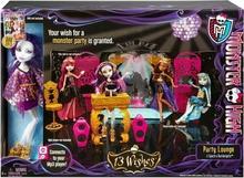 Mattel Monster High - 13 życzeń Lalka Spectra & dyskoteka Y7720