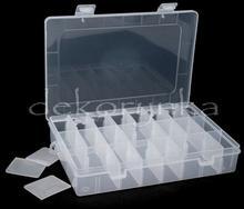 080676 Plastikowy pojemnik na koraliki 14x20cm