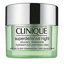 Clinique Superdefense Night Recovery Moisturizer typ skóry 3/4 Krem do twarzy 50ml