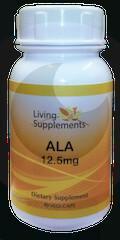 Living Supplements Kwas alfa liponowy ALA 12,5 mg - 90 kapsułek Alpha Lipoic Aci