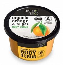Organic Shop Scrub do ciała Sicilian Orange 250ml SIBERICA