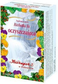 Herbata Oczyszczajďż˝ca Fix x 20