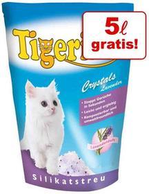 Tigerino 15 + 5 l gratis! Crystals żwirek silikonowy dla kota 20 l Crystals Flower-Power