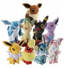Tomy Pokemon Eevee (ewolucje) Pluszak