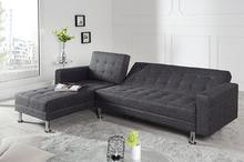 Interior Sofa narożna Confort szara (z funkcją spania) i-72280