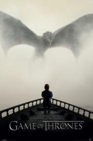 Gra o Tron Lew i Dragon Plakat