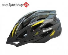Axer KASK ROWEROWY LIZARD STRIP ROZM. XL / SPORT A1467-XL YELLOW STRIP