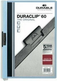 Duraclip Durable Original 60, Skoroszyt zaciskowy A4, 1-60 kart.