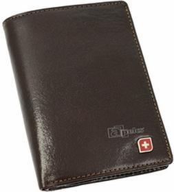 Genevian Luxury Objects 03-2308-04 portfel skóra - brązowy