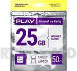 Opinie o Starter PLAY INTERNET NA KARTĘ 50PLN 25GB