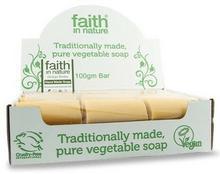 Faith In Nature Organiczne mydła z wyciągiem z Miłorzębu 18sztuk x 100g -